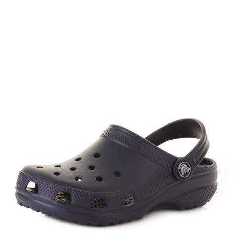 croc jelly sandals boys crocs classic navy blue jelly sandals