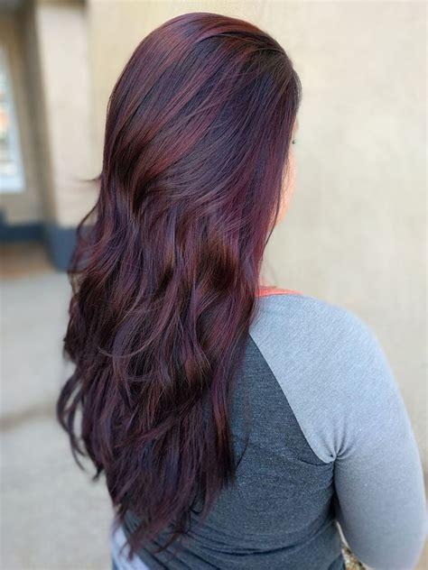 chocolate cherry brown hair photos the 25 best chocolate cherry hair color ideas on