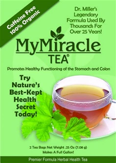 How Often To Drink Detox Tea by Detox Tea My Miracle Tea Review The Detox Specialist