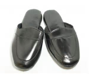 s leather look indoor slippers grace textile