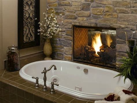 fireplace in bathroom wall to da loos there s a fire in the bathroom