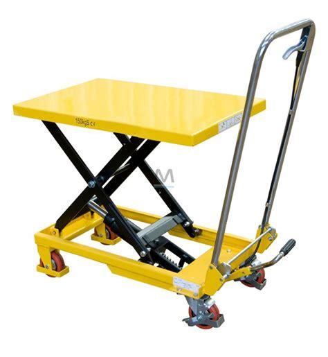 pedana elevatrice piattaforma elevatrice su ruote 300 kg mito prodotti e