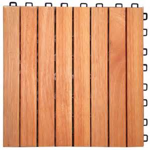 vifah 174 eucalyptus 8 slat interlocking wood