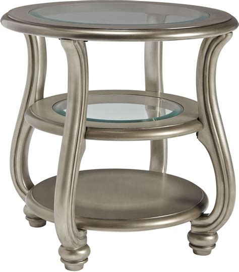 Coralayne Silver End Table From T820 6