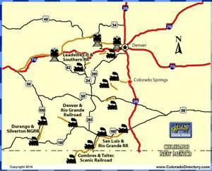 railroad map of colorado colorado railroads map