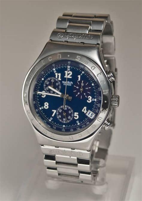 Swatch Uhrenglas Polieren by Herren Armbanduhr Swatch Irony Chrono Ebay