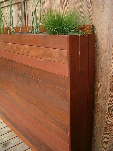 Narrow Planter Boxes by This Narrow Planter Would To Integrate