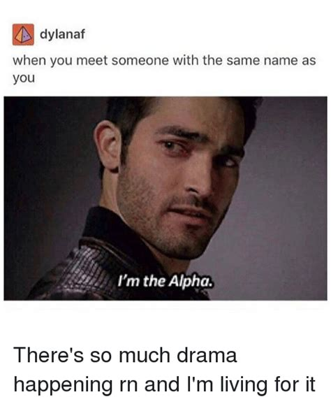 Alpha Meme - 25 best memes about when you meet someone when you meet