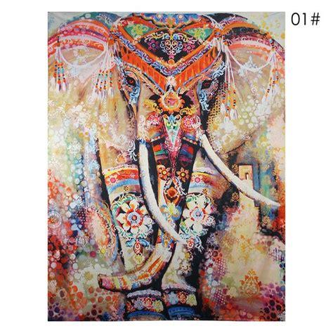150cmx130cm Boho Wall Carpet Tapestry Mandala Tapestry 9 wall carpet elephant tapestry colored printed decorative