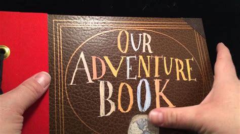 up film photo album disney pixar up our adventure book photo album youtube