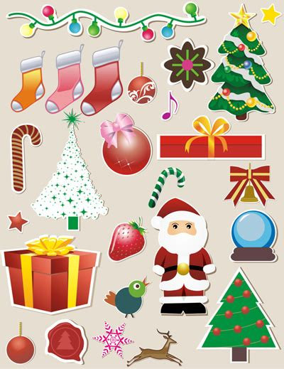 printable christmas decals printable christmas stickers