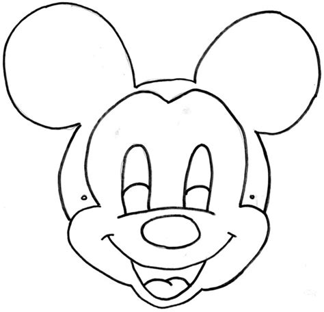printable mouse mask template minnie mouseprintable masks to color mickey mouse mask