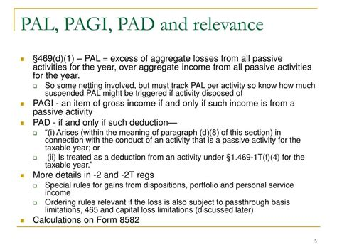 irc section 469 ppt irc 167 469 passive activities part 3 powerpoint