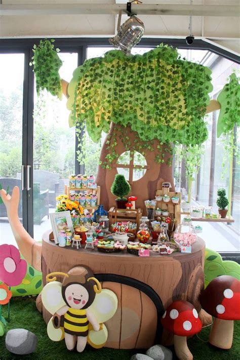 Fairy Garden Themed Birthday Party Via Karas Party Ideas Garden Birthday Ideas