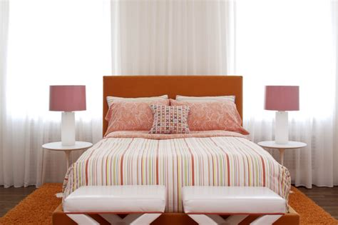 vibrant bedroom colors 24 orange bedroom designs decorating ideas design trends
