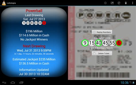 scan lottery tickets android scan lottery ticket app tatts results australia