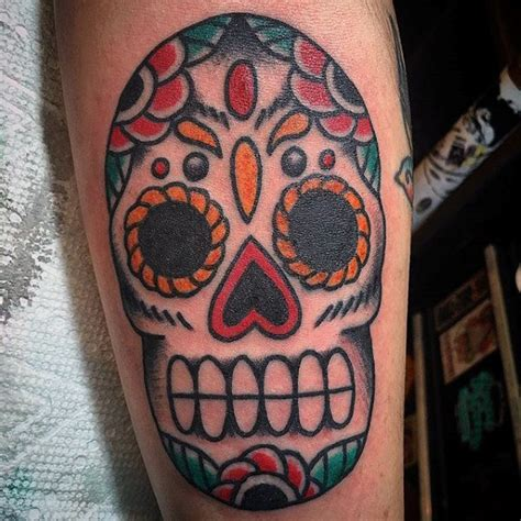 online tattoo appraisal old school sugar skull tattoo designs
