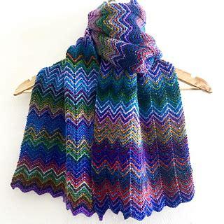 zickzack scarf pattern ravelry varant s zickzack scarf