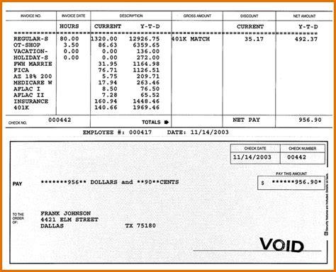 Stub Template doc 680800 paycheck stub template free 3 check stub