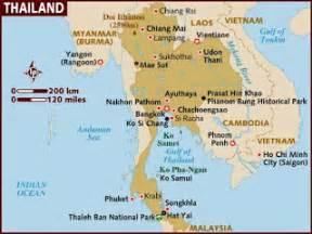 map of beaches in southeast us urlaub in thailand thailand sehensw 252 rdigkeiten