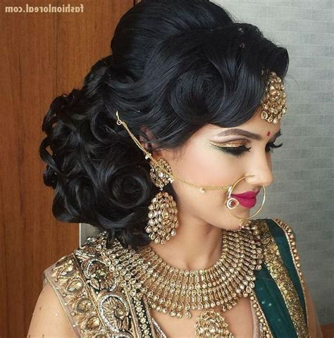 best 25 indian bridal hairstyles ideas on 20 best collection of hairstyles for indian wedding