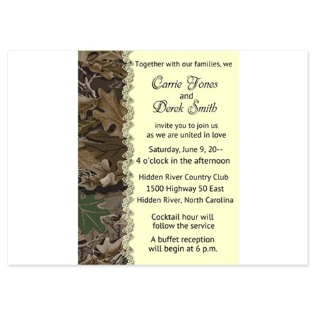 Camo Camouflage Wedding Invitation Invitations By Onlinesunshine Camouflage Wedding Invitations Templates