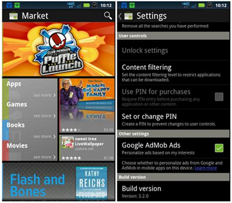 market for apk android market 3 2 apk leaked from sandwich direct link redmond pie