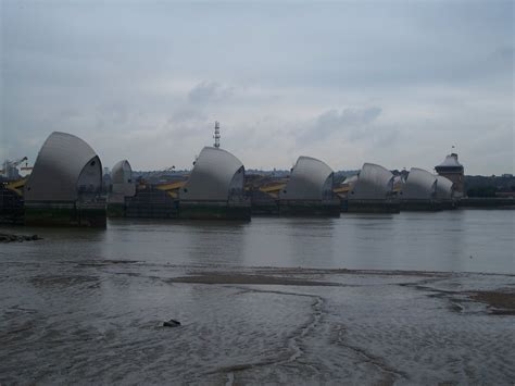 thames barrier up panoramio photo of thames barrier