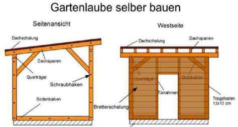 Bauanleitung Carport Flachdach 4920 by Gartenhaus Flachdach Bauanleitung My