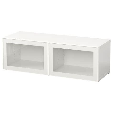 ikea besta shelving unit best 197 shelf unit with glass doors white glassvik white