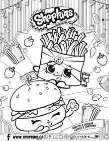 Shopkins coloring pages coloring pages