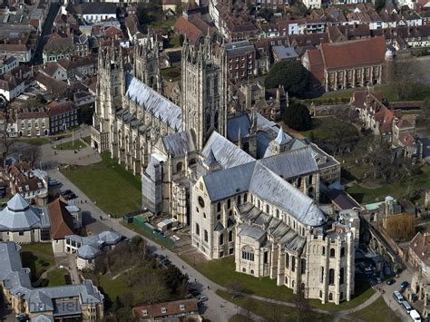 Chartres Cathedral Floor Plan by Canterbury Cathedral Aerial Canterbury Cathedral Aerial