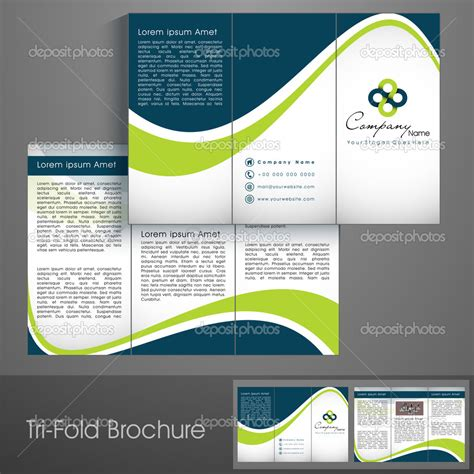 template brochure design 1000 images about brochure design on pinterest template