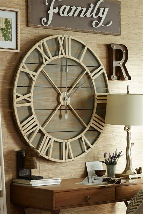 top 25 ideas about wall clock decor on large