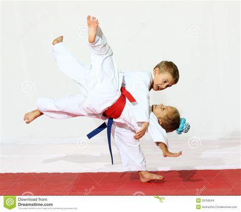 Karate The Masster Of Attack And Defence sport karate stock images image 29756044