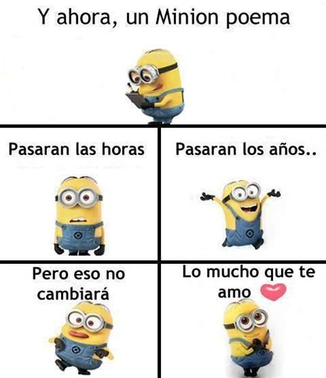 imagenes minions te amo 1000 images about minion poemas on pinterest te amo