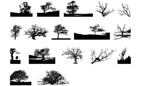 vector tree tutorial adobe illustrator tree vector pack