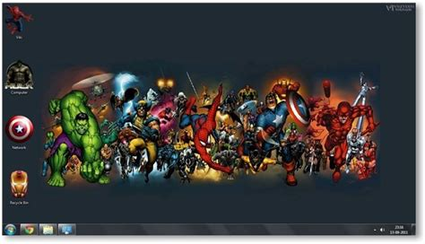 marvel themes for windows 8 1 windows 7 comics themes marvel comics theme for windows
