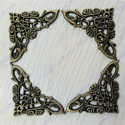 Decorative Metal by Decorative Metal Corners For Furniture Flat Corner Brace