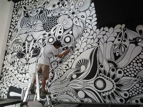 zentangle uniposca cerca  google murales murales