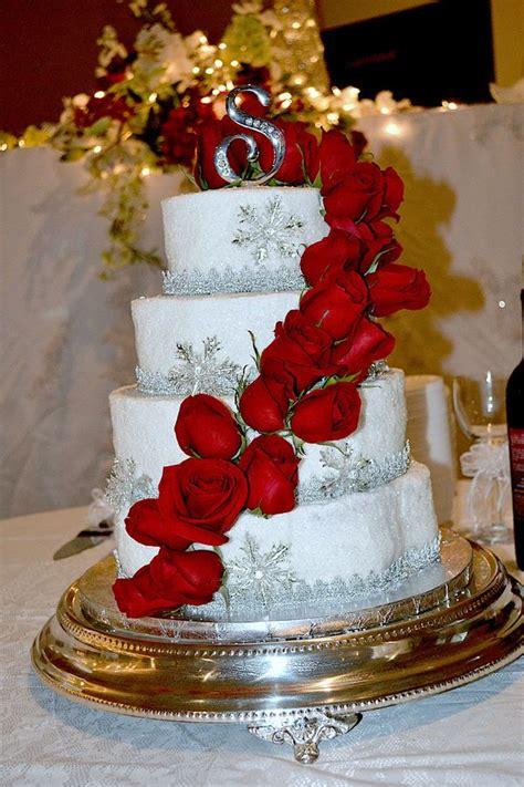 ideas  christmas wedding cakes  pinterest winter wedding cakes christmas wedding