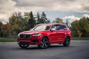Volvo R Design Review 2016 Volvo Xc90 T6 R Design Canadian Auto Review