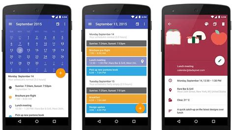 design calendar app android 10 best calendar apps for android android authority