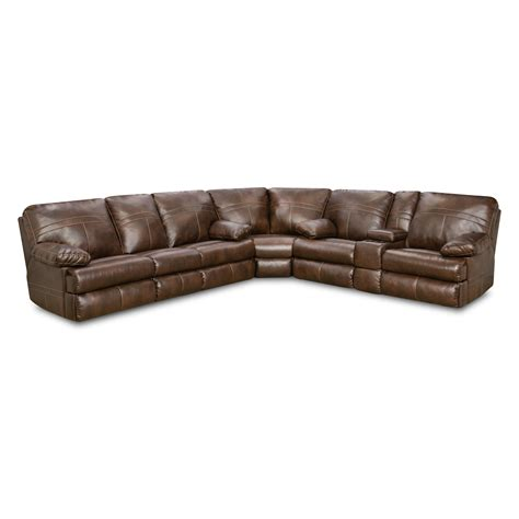 simmons leather sofa simmons upholstery miracle bonded leather sectional with