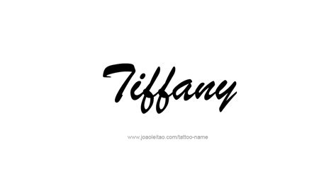 tiffany tattoo name pictures to pin on tattooskid