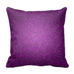 purple glitter sequin disco throw pillow zazzle