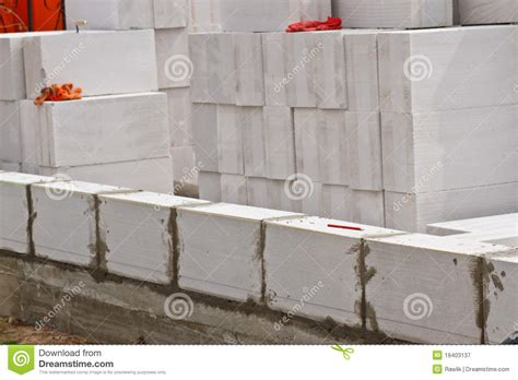 foam block construction house plans start building royalty free stock photography image 19403137