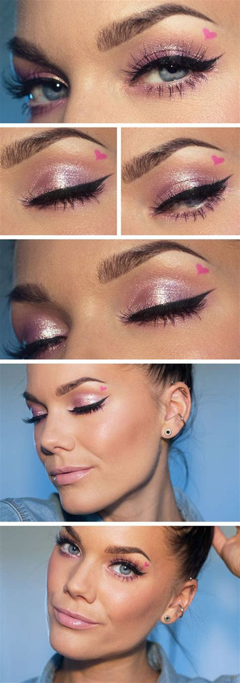 valentines day makeup 12 easy s day makeup tutorials for beginners