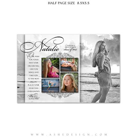 yearbook templates for photoshop senior yearbook ads photoshop templates simply classic