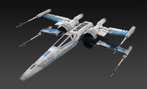 best x wing model resistance x wing fighter 3d obj